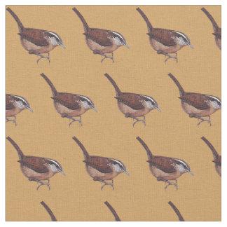 Tela del arte del pájaro del Wren de Carolina