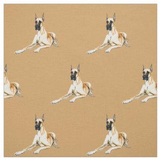 Tela del arte del perro de great dane