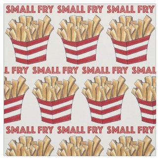 Tela del bebé de la comida de las patatas fritas