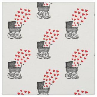 tela del cuarto de niños del diseño del cochecito