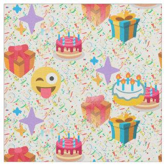 tela del emoji del feliz cumpleaños