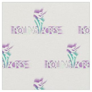 Tela del logotipo de los acres del balanceo