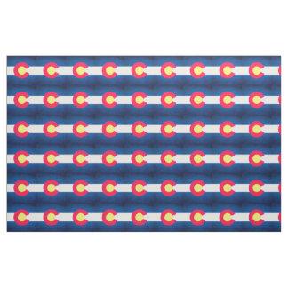 Tela del modelo de la repetición de la bandera de
