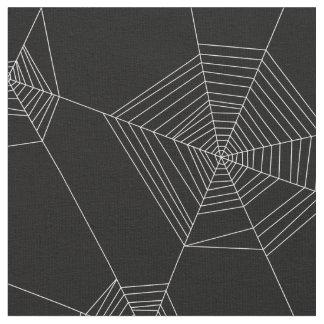Tela del negro del modelo de los Web de araña
