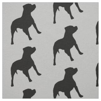 Tela del perro de Pitbull