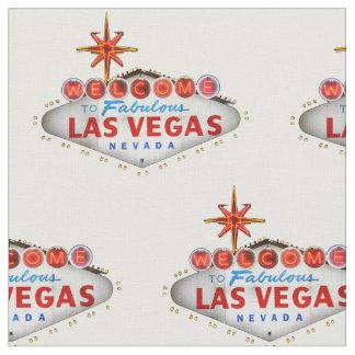 Tela del signo positivo de Las Vegas