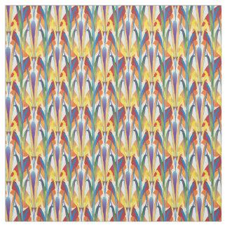 Tela Diseño salvaje del estampado de flores del arco