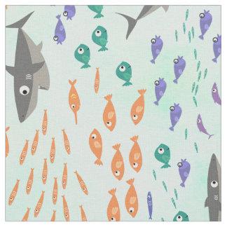 Tela Diversión del tiburón