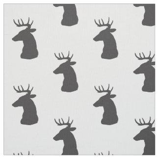 Tela Dólar de la silueta de los ciervos con las astas