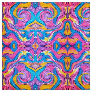 Tela El soplar en las pinceladas Viento-Abstractas del