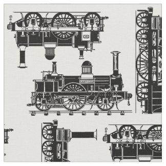 Tela El vapor entrena a las locomotoras clásicas del