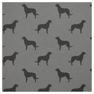 Tela El Wolfhound irlandés siluetea el modelo