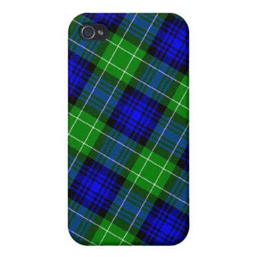 Tela escocesa de tartán de Abercrombie iPhone 4/4S Funda