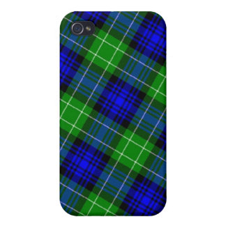 Tela escocesa de tartán de Abercrombie iPhone 4 Cárcasas