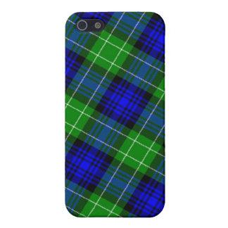 Tela escocesa de tartán de Abercrombie iPhone 5 Carcasa