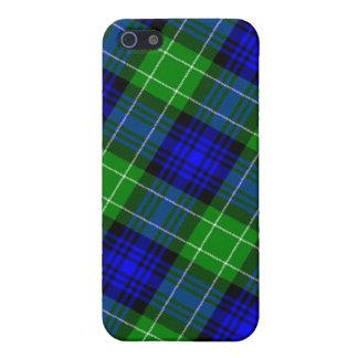 Tela escocesa de tartán de Abercrombie iPhone 5 Cobertura