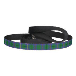 Tela escocesa de tartán de Carmichael Correa Para Mascotas