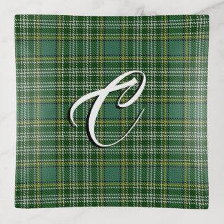 Tela escocesa de tartán de Currie del clan