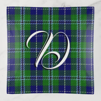 Tela escocesa de tartán de Douglas del clan