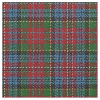 Tela escocesa de tartán escocesa azulverde roja de