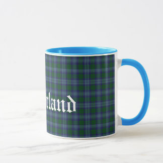 Tela escocesa de tartán escocesa de encargo del taza
