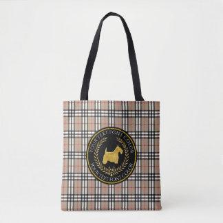 Tela escocesa de Yourberry del Ringside de Terrier Bolsa De Tela