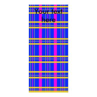 Tela escocesa gris rosada contemporánea lona personalizada
