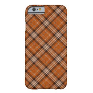 Tela escocesa retra funda de iPhone 6 barely there