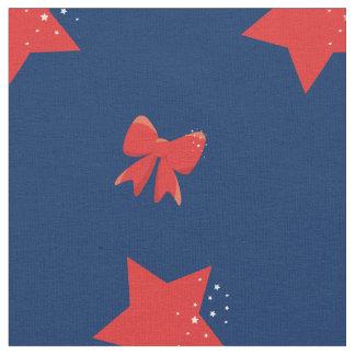 Tela Estrellas del rojo y arcos del rojo