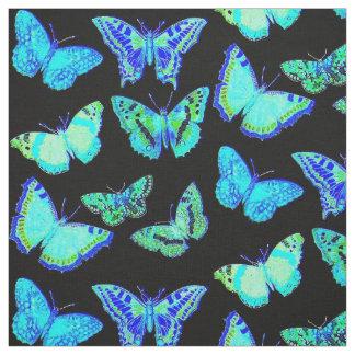 Tela fantasmagórica de la polilla de la mariposa