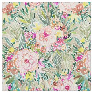 Tela Floral tropical colorido de WOWSER
