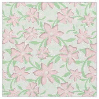Tela Flores rosadas de la primavera de la floración de