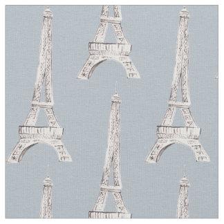 Tela francesa del modelo de París de la torre