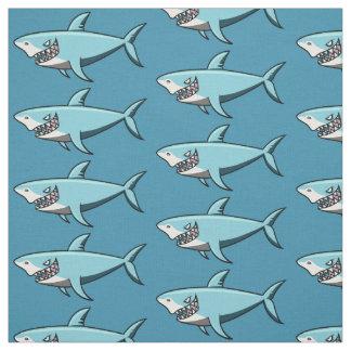 Tela fresca del personalizado del tiburón
