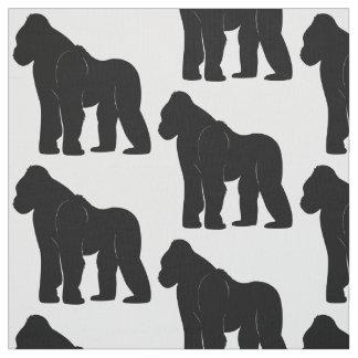 Tela Gorila en silueta