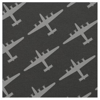 Tela gris del negro del modelo de los aviones del