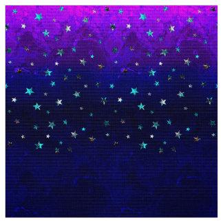 Tela Imagen estrellada de la noche hermosa de la