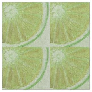 Tela impresa rebanada del limón telas