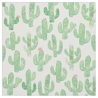 Tela Impresión del cactus
