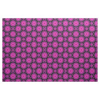 Tela Lavanda rosada floral