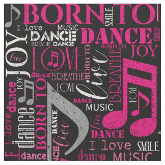 Tela Llevado bailar ID277 rosado/blanco