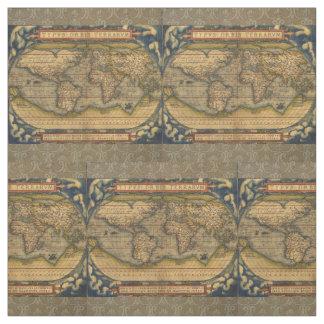 Tela Mapa del mundo Ortelius antiguo Europa