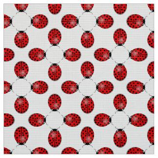 Tela Mariquitas en rojo