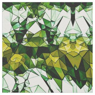 Tela modelada mosaico de piedra verde