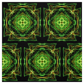 Tela modelo abstracto del fractal