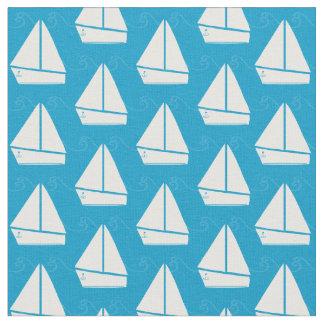 Tela Modelo azul claro del velero