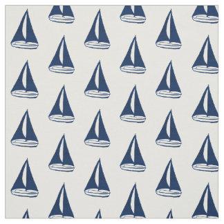 Tela Modelo azul del velero