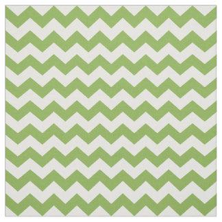 Tela Modelo blanco verde de los galones 2017 del zigzag