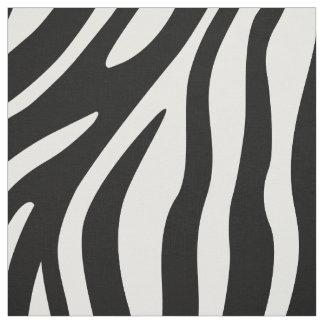 Tela Modelo blanco y negro de las rayas del estampado