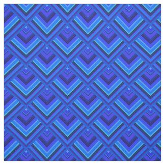 Tela Modelo de la escala de las rayas azules